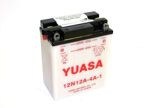 YUASA Conventionele batterij 12N12A-4A-1