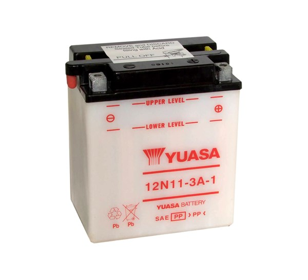 YUASA Conventionele batterij 12N11-3A-1