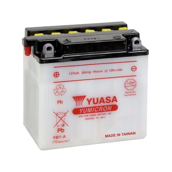 YUASA Yumicron batterij YB7-A