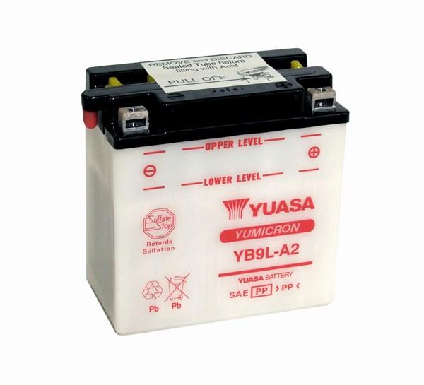 YUASA Yumicron batterij YB9L-A2