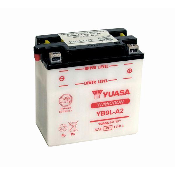 YUASA Batterie Yumicron YB9L-A2