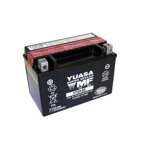 YUASA Onderhoudsvrije batterij YTX9-BS