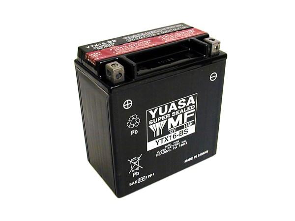 YUASA Onderhoudsvrije batterij YTX16-BS