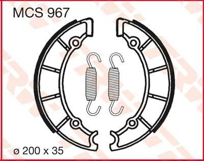 TRW Remschoenen MCS967