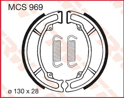 TRW Remschoenen MCS969