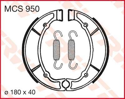 TRW Remschoenen MCS950