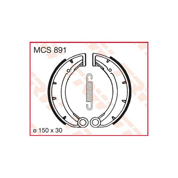 TRW Remschoenen MCS891