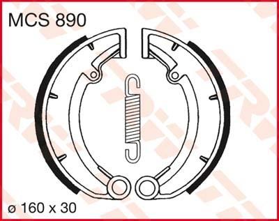 TRW Remschoenen MCS890