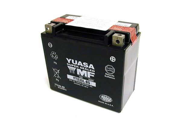 YUASA Onderhoudsvrije batterij YTX20L-BS