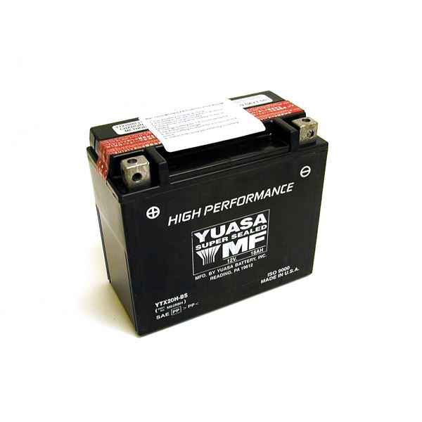 YUASA Onderhoudsvrije batterij high power YTX20H-BS