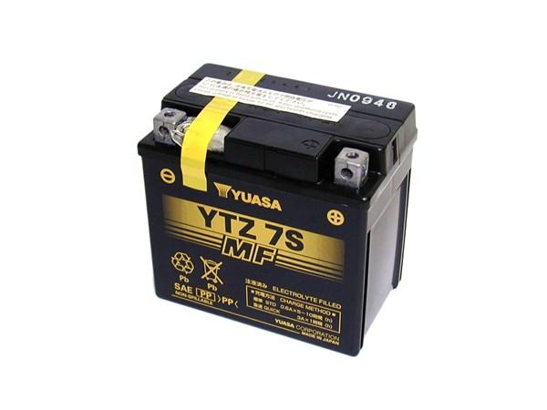 YUASA Gesloten batterij onderhoudsvrij YTZ7S