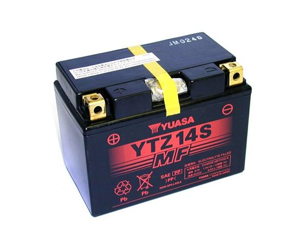 YUASA Gesloten batterij onderhoudsvrij YTZ14S