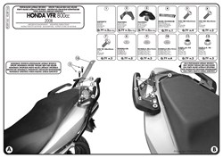 GIVI Zijkofferhouder V35 koffers - PLXR
