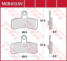 TRW SV/SH Remblokken MCB813SV