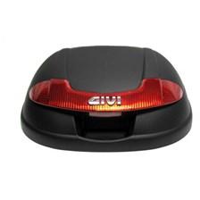 GIVI E340 Couvercle Non peint - Noir - Z340CNM