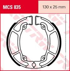 TRW Mâchoires de freins MCS835