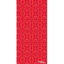 ROLEFF TUBULAR SCARF TRIBAL RED