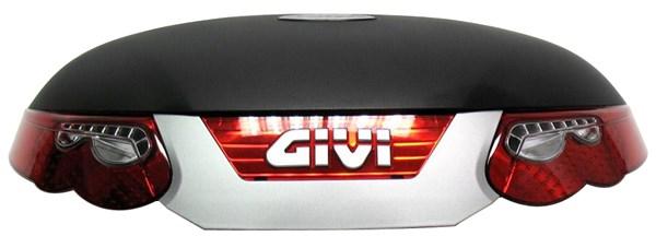 GIVI E55N Bovenschaal Zwart - Z55CNM