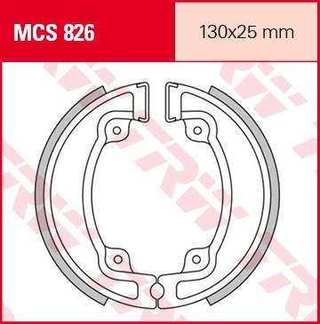 TRW Remschoenen MCS826