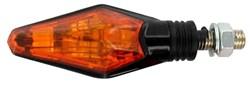 CHAFT : Sliver - Noir avec lentille orange