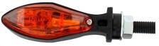 CHAFT Scoop (per paar) Zwart met oranje lens