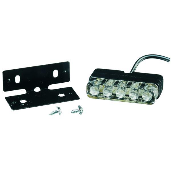 CHAFT Eclairage de plaque 'domino' 3xLED 12V