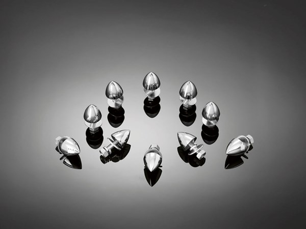 HIGHWAY HAWK Bullet nuts M6 'Plain'