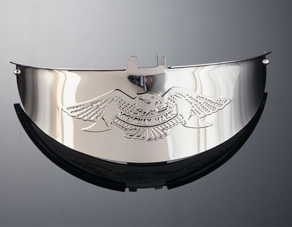 HIGHWAY HAWK Headlight visors large Live to ride