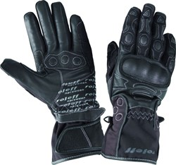 ROLEFF : LEATHER GLOVE RO89 - Noir