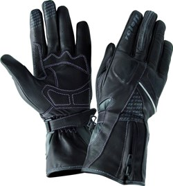ROLEFF : LEATHER LADY GLOVE RO76 - Noir