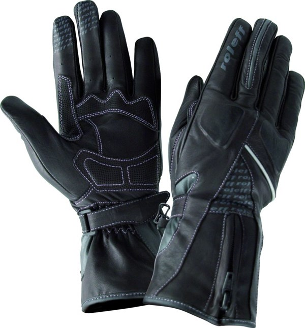 ROLEFF LEATHER LADY GLOVE RO76 Zwart