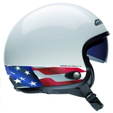 GIVI X.05 deco nekcover USA-vlag XS > M