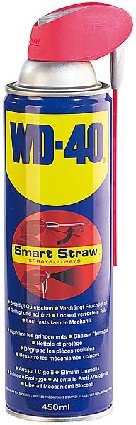 WD-40 : spray multi usage - 450ml smart straw