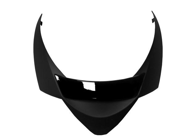 SHARK S900 Spoiler Mat/blinkend zwart