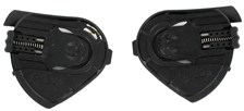 SHARK S600/S650/S700/S800/S900/Ridill Fixation visière Noir