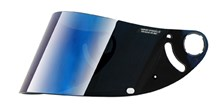 SHARK Visière VZ32 Iridium bleu