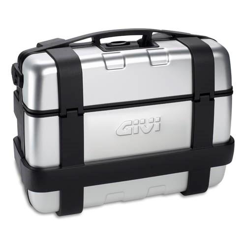 GIVI TRK33 Trekker valise ou top case 33l cache aluminium - 33 litre