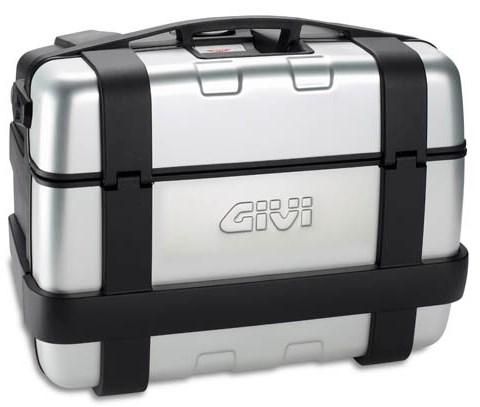 GIVI TRK46 Trekker top- of zijkoffer aluminium cover - 46 liter