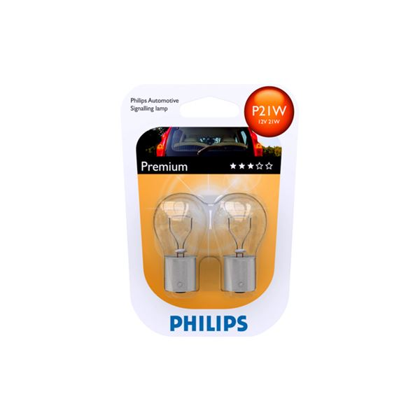 PHILIPS BA15S Philips P21W 12V 21W