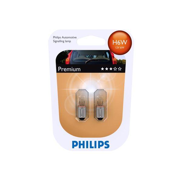 PHILIPS BAX9S H6W 12V 6W