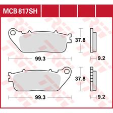 TRW Plaquettes de frein SV/SH MCB817SH
