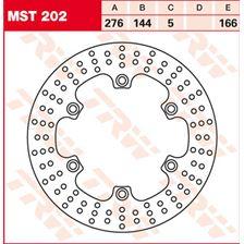 TRW MST vaste remschijf MST202