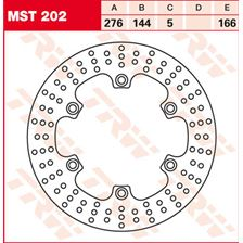 TRW MST disque de frein fixe MST202