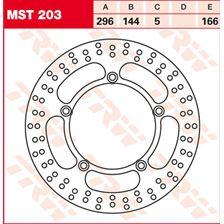 TRW MST disque de frein fixe MST203