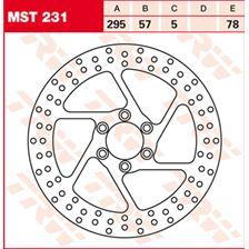 TRW MST vaste remschijf MST231