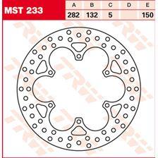 TRW MST vaste remschijf MST233