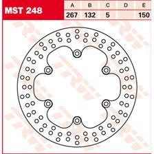 TRW MST vaste remschijf MST248