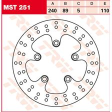 TRW MST disque de frein fixe MST251