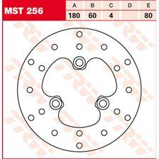 TRW MST vaste remschijf MST256