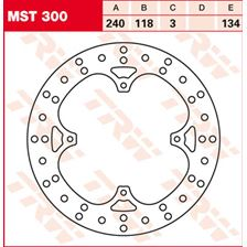 TRW MST disque de frein fixe MST300